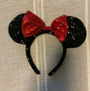 Other - Disney Minnie Mouse Headband Ears Sparkly